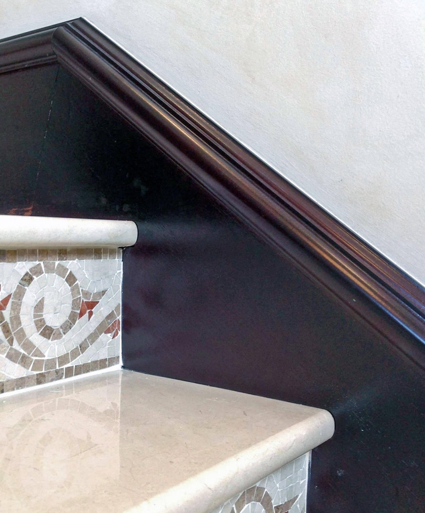 BRICKEL STAIRS BASEBOARD.