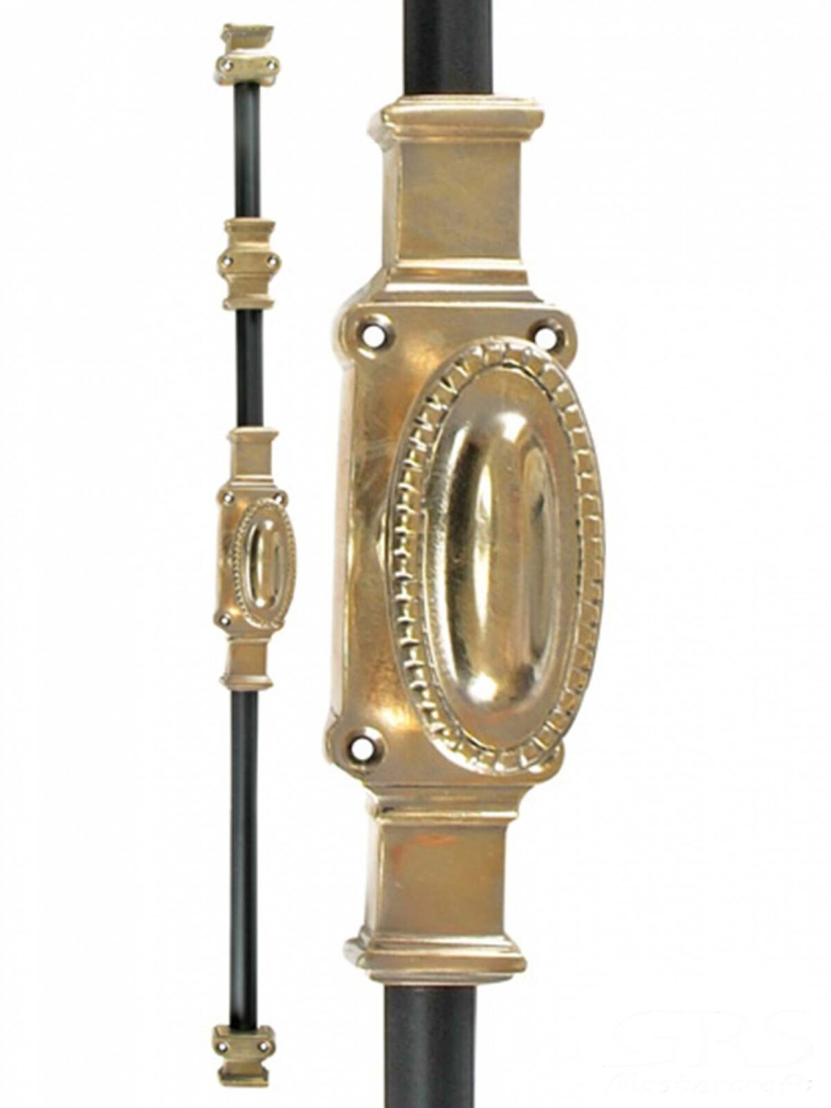 CLASSICAL CREMONE BOLTS SOLID BRASS.