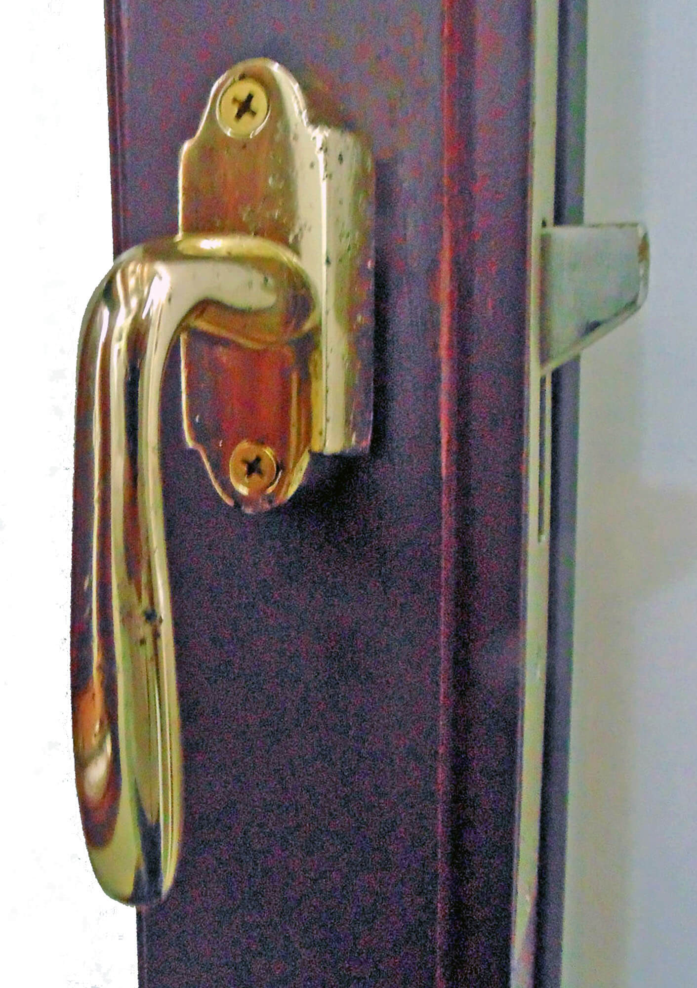 PAMPA SOLID BRASS FORGED SAND CAST HANDLE