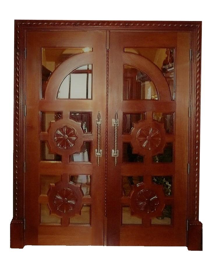 SAN FRANCISCO MAHOGANY ENTRY DOOR