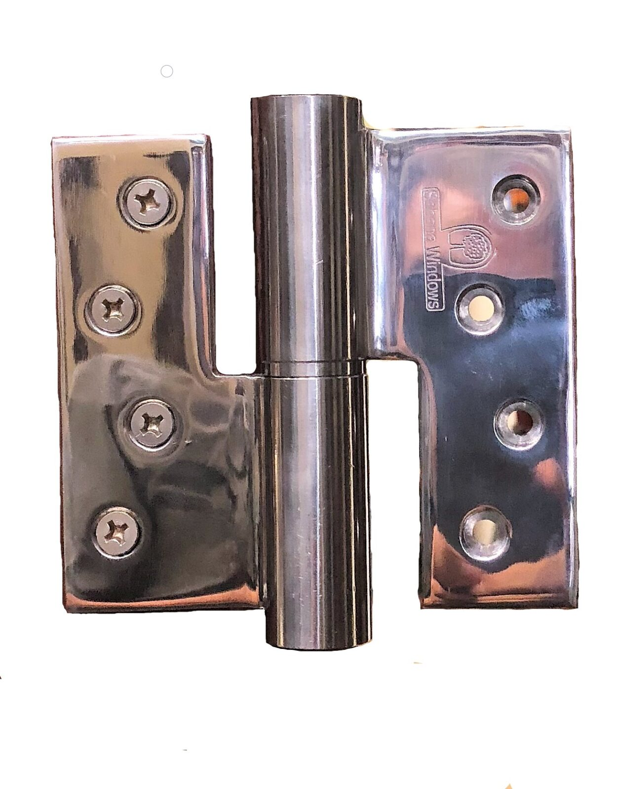 STAINLESS STEEL HINGE FRANKFURT WITHOUT FINIAL