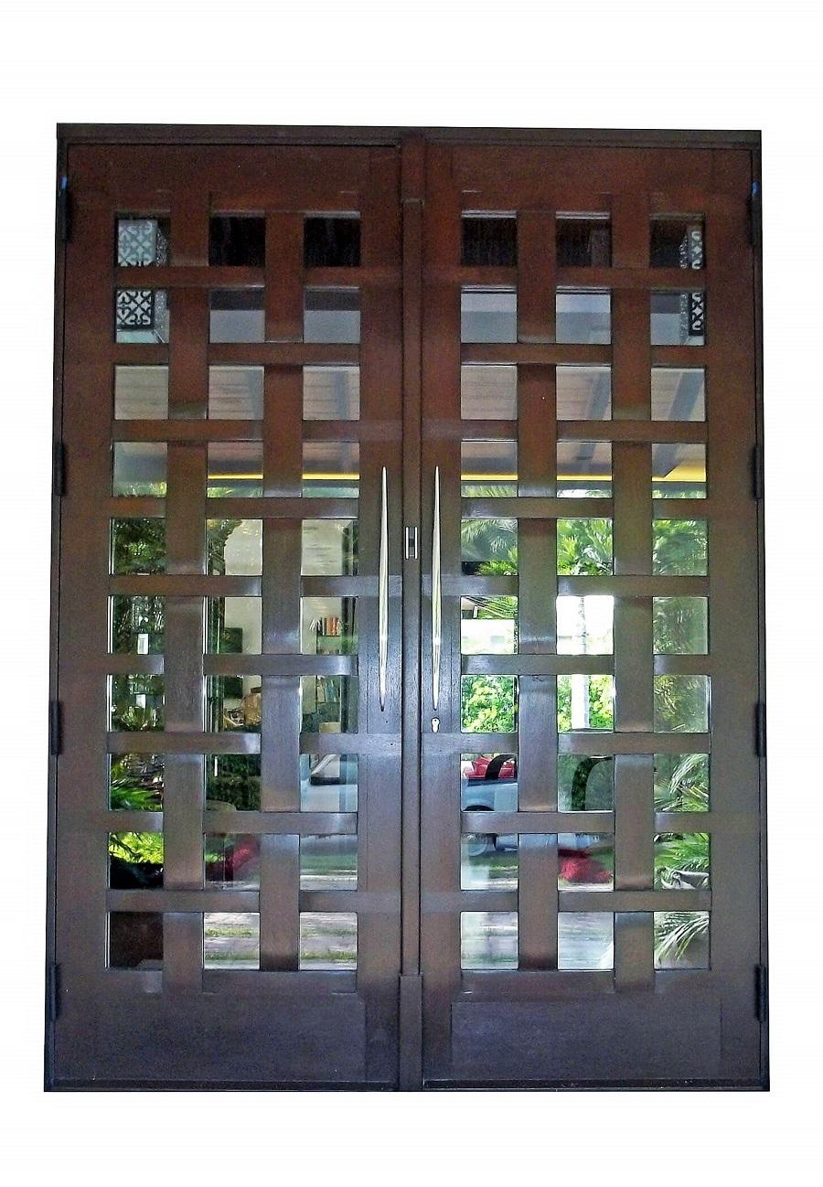 contemporary exteriorDoors100
