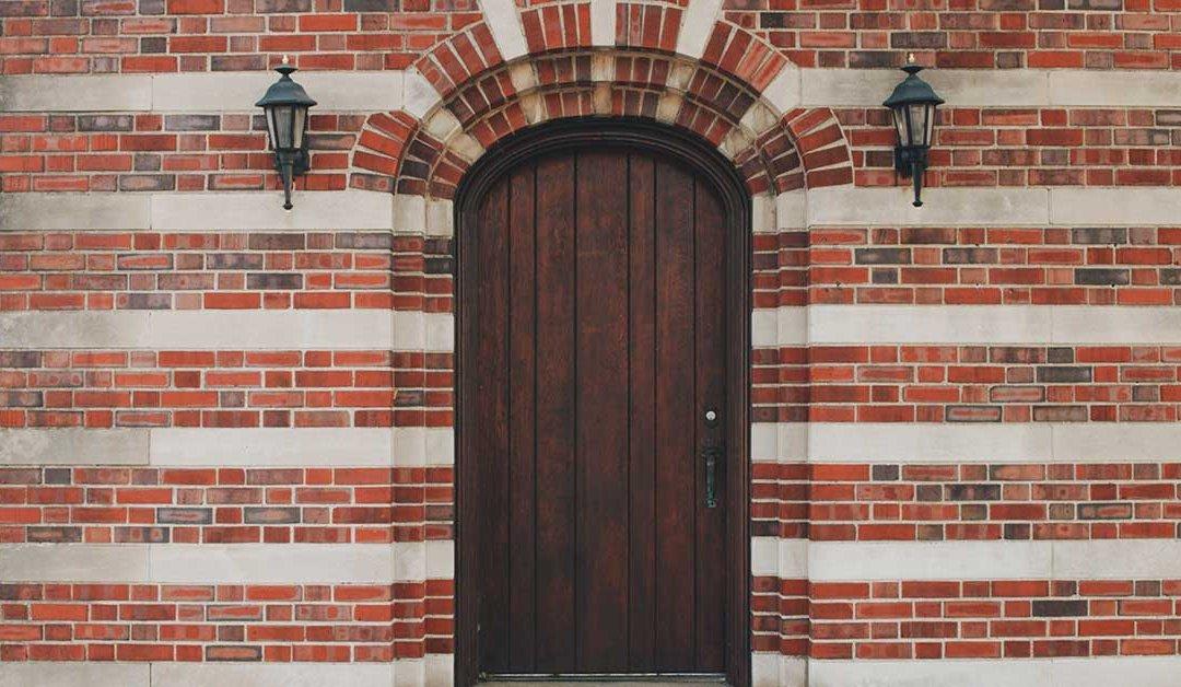 wooden door in florida
