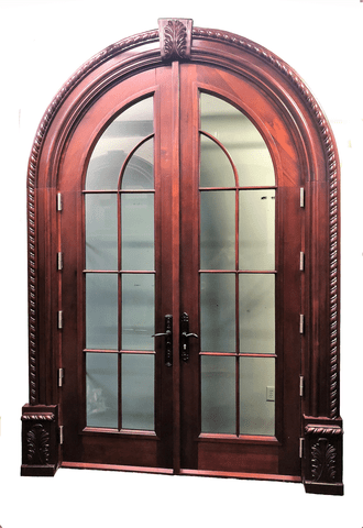 TRADITIONAL ARCHED FRENCH DOOR