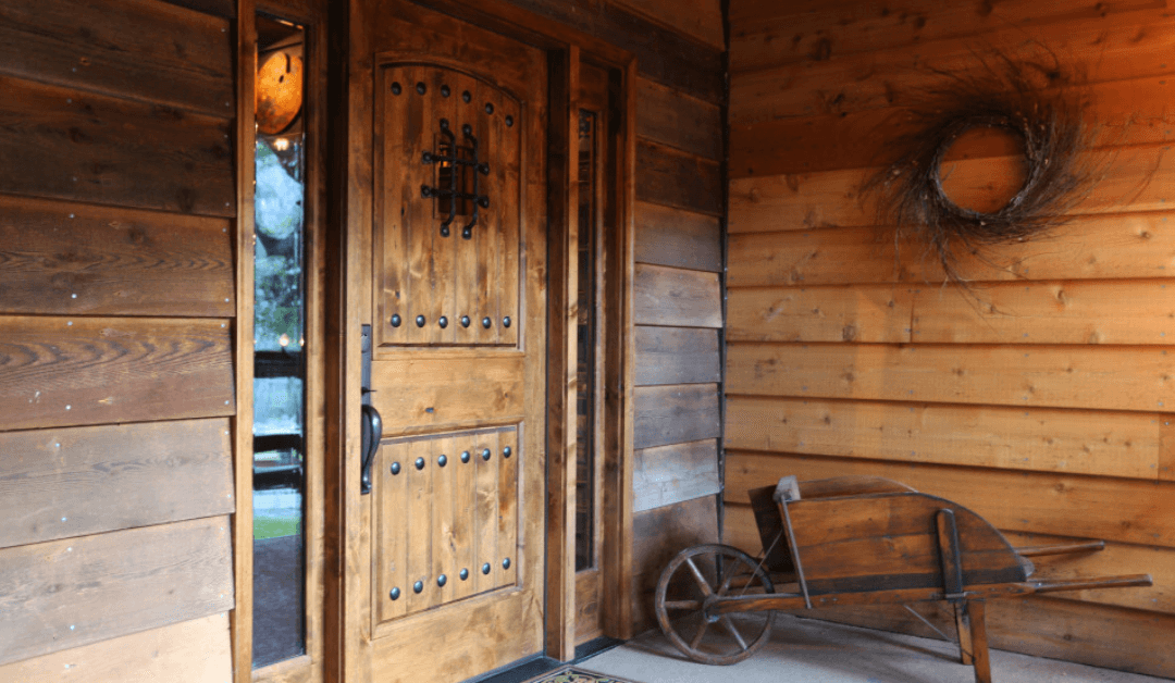 wooden front doors in United States