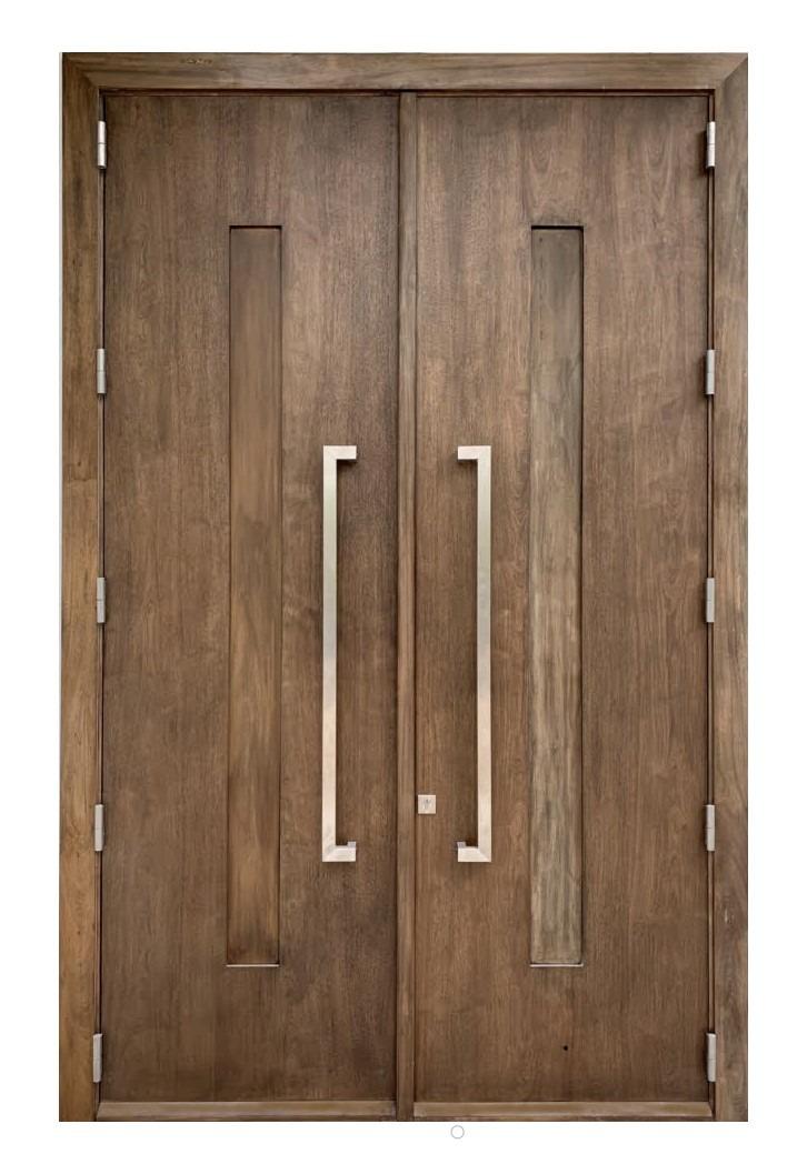 DELANGE CONTEMPORARY MAHOGANY DOORS