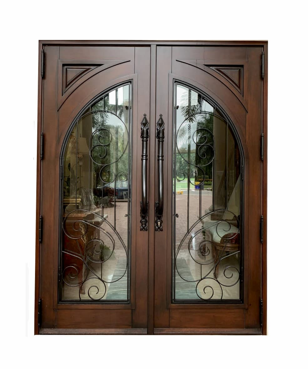Berle Mahogany Entrance Door