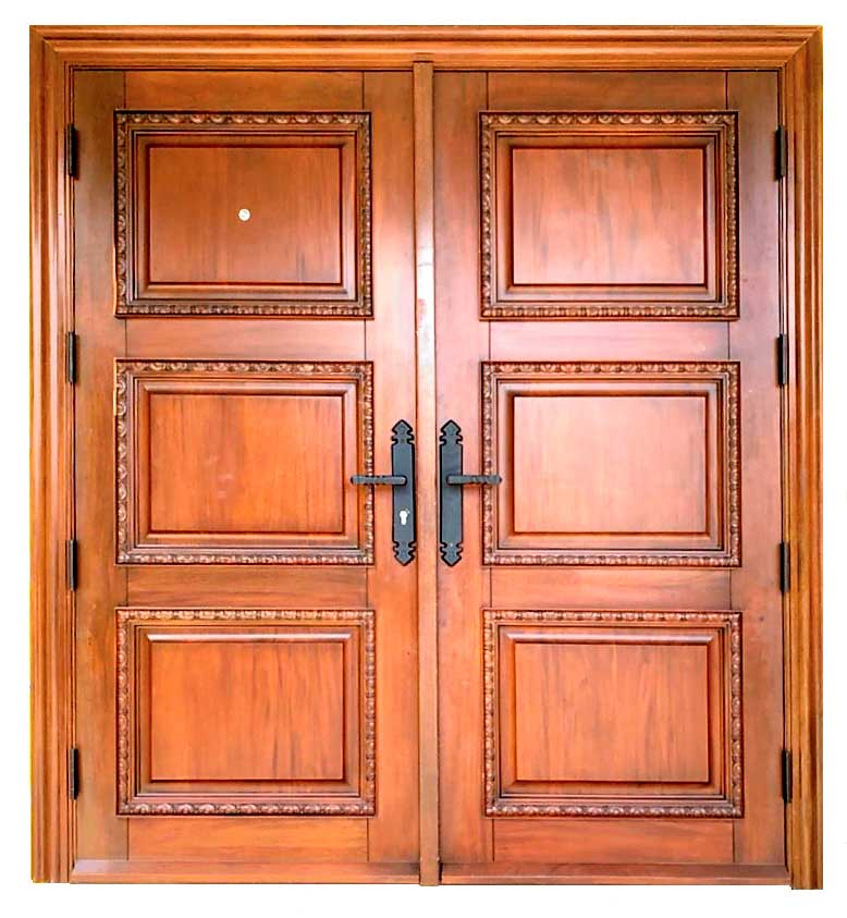 NORMAN MAHOGANY DOOR