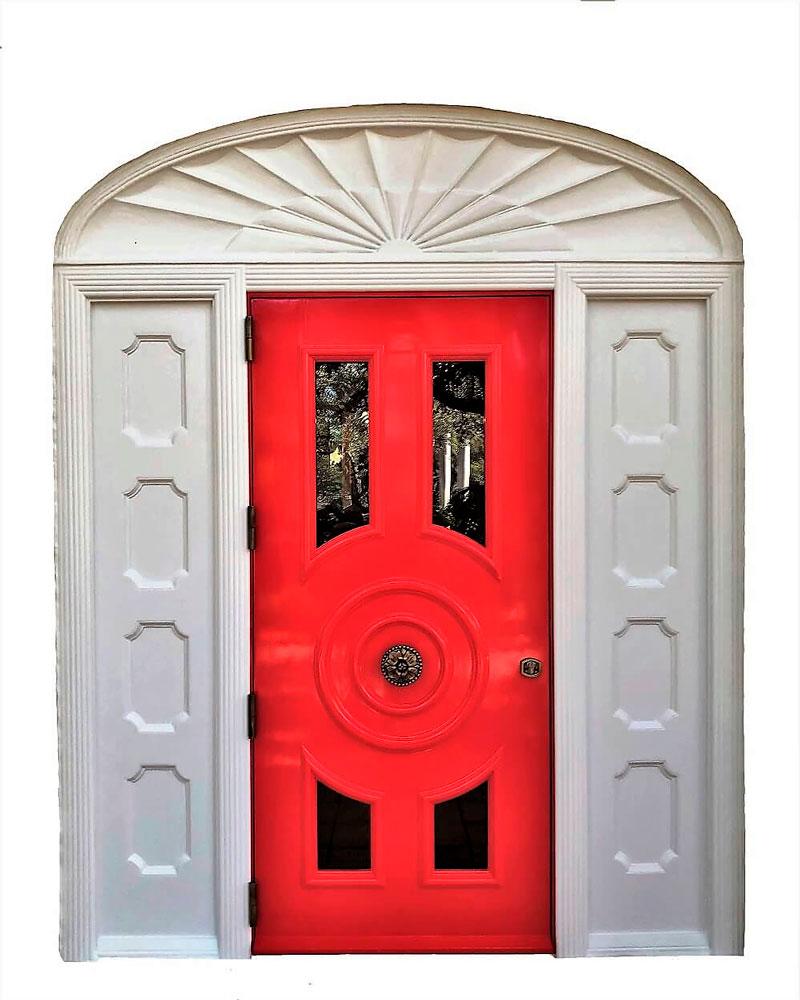 CORAL DOOR