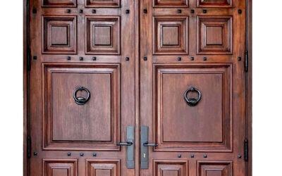 Consider Mahogany French Doors