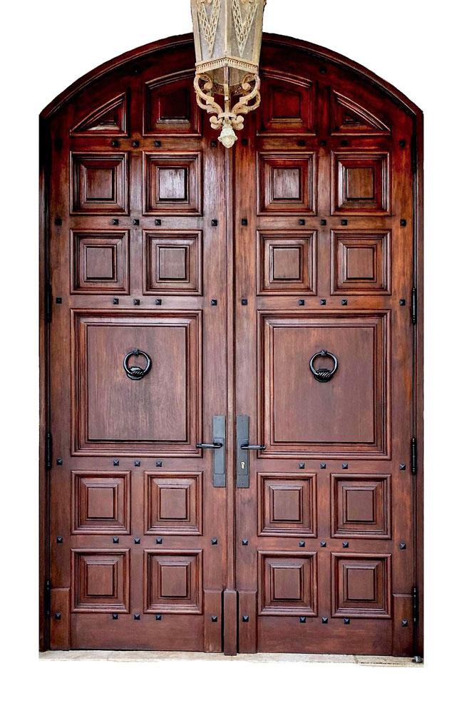 VIGIL MAHOGANY ENTRY DOOR