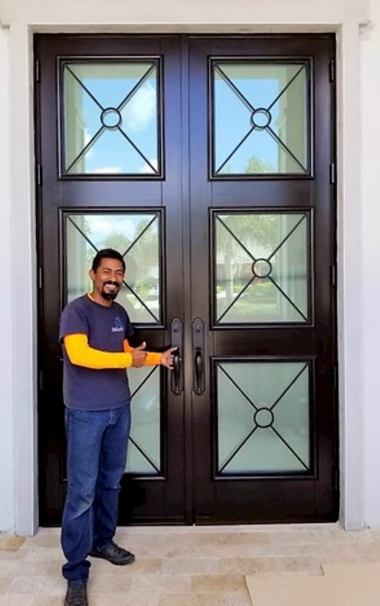 Boca Chica Entry Door