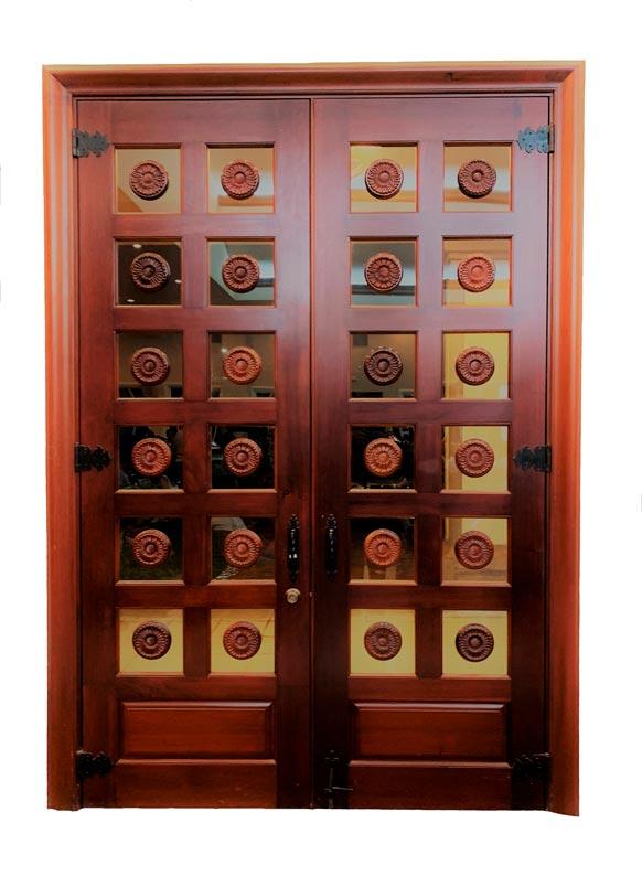 MALALA MAHOGANY DOOR