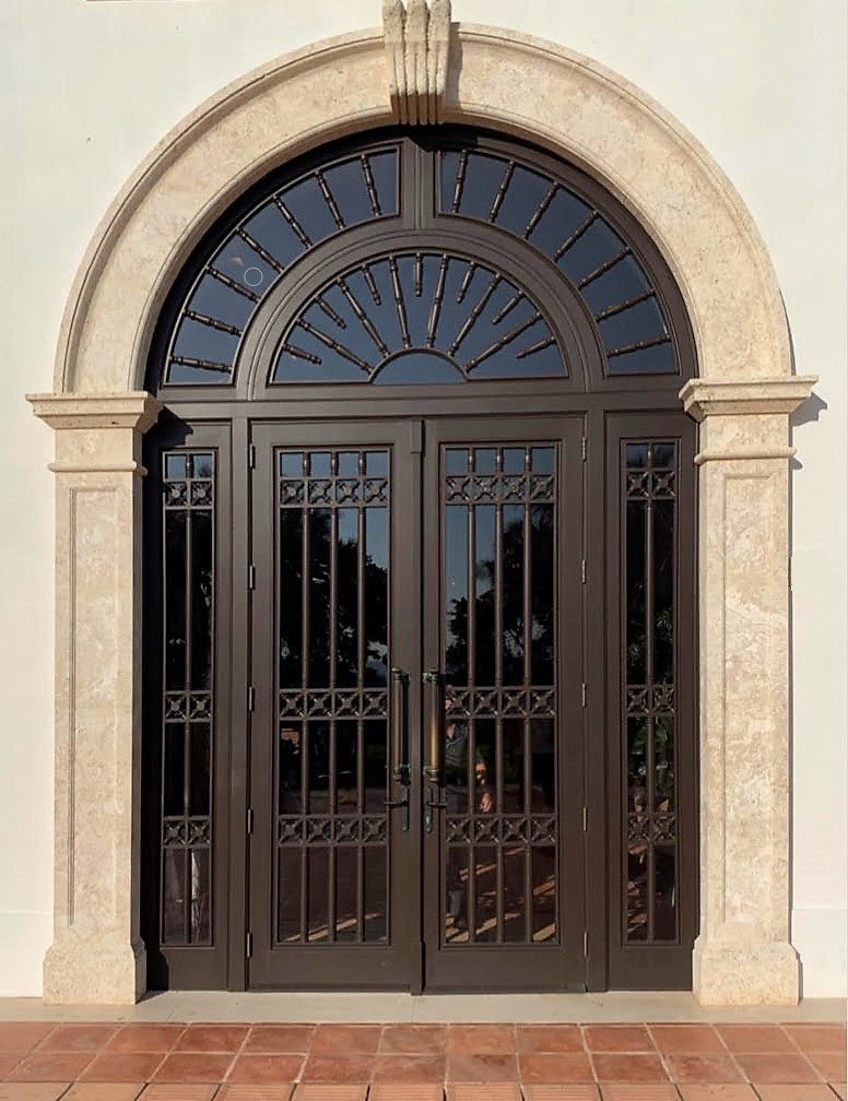 SURF CLUB FRENCH EXTERIOR DOOR