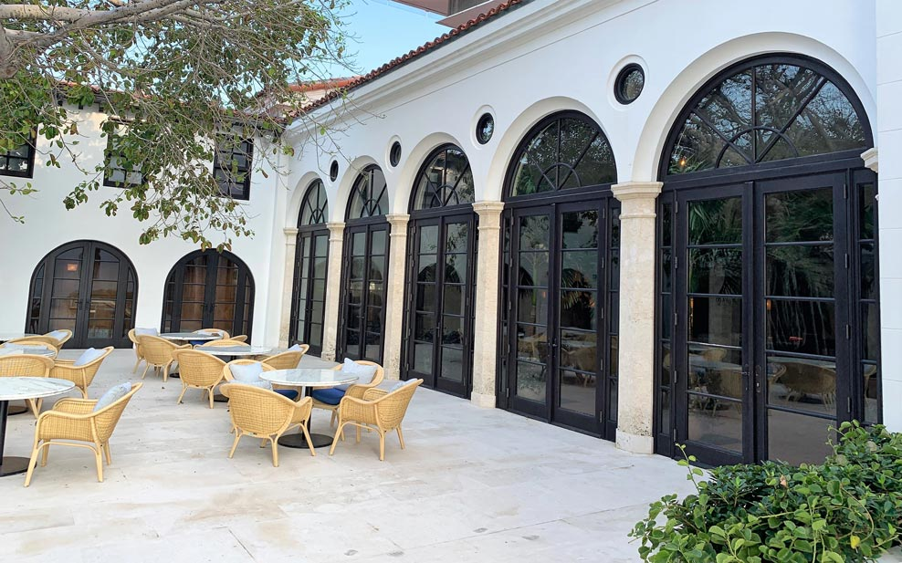 SURF CLUB FRENCH DOORS