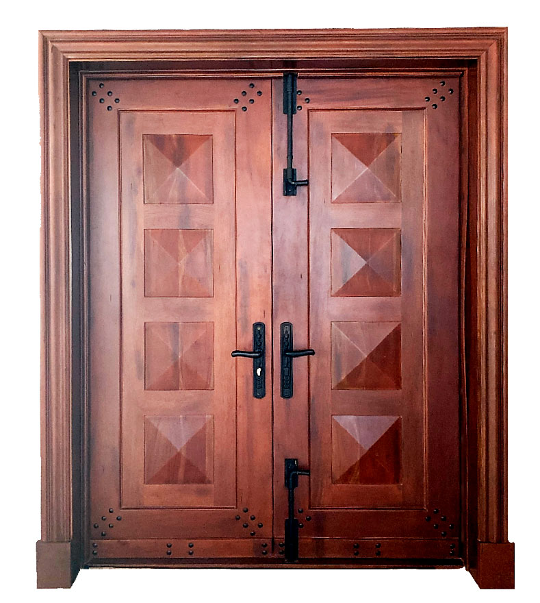 URBINA TRADITIONAL MAHOGANY DOOR