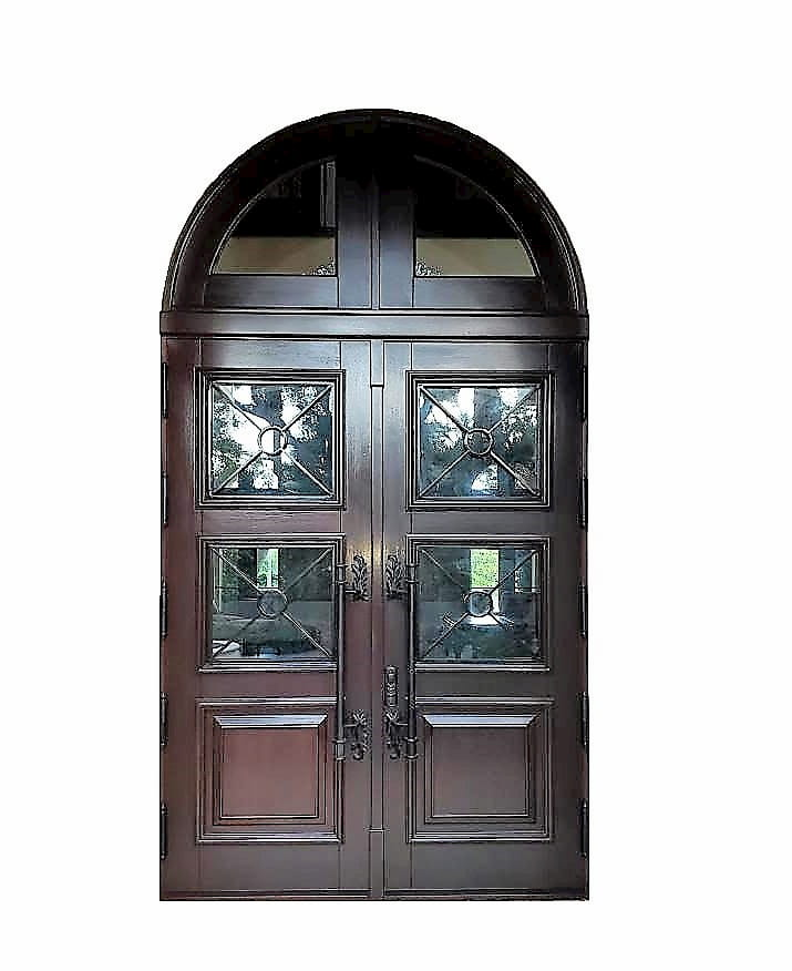 Pike Exterior Mahogany Door