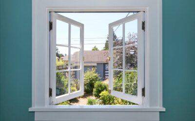 Mahogany Casement Windows