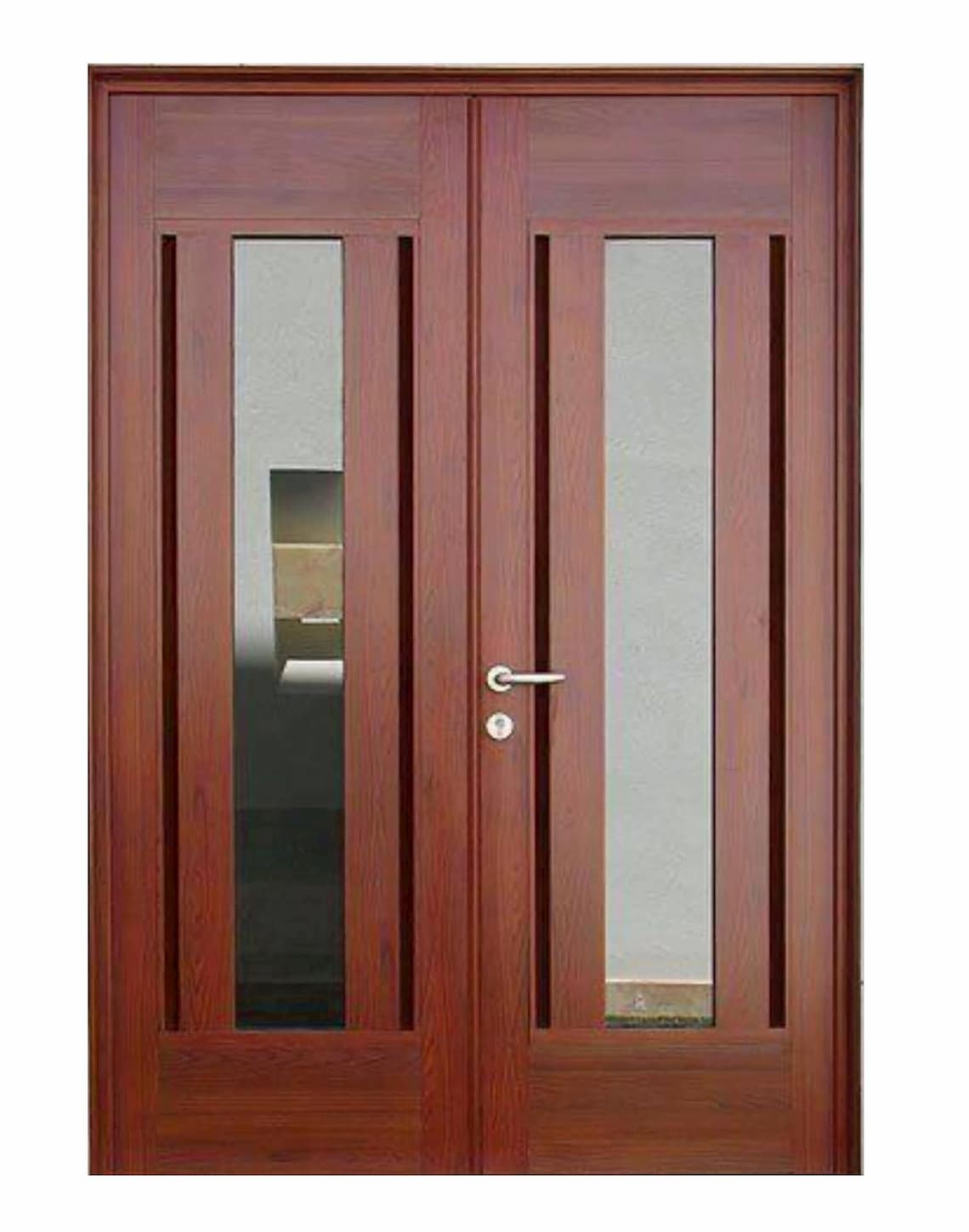 Milano Mahogany Entry Door