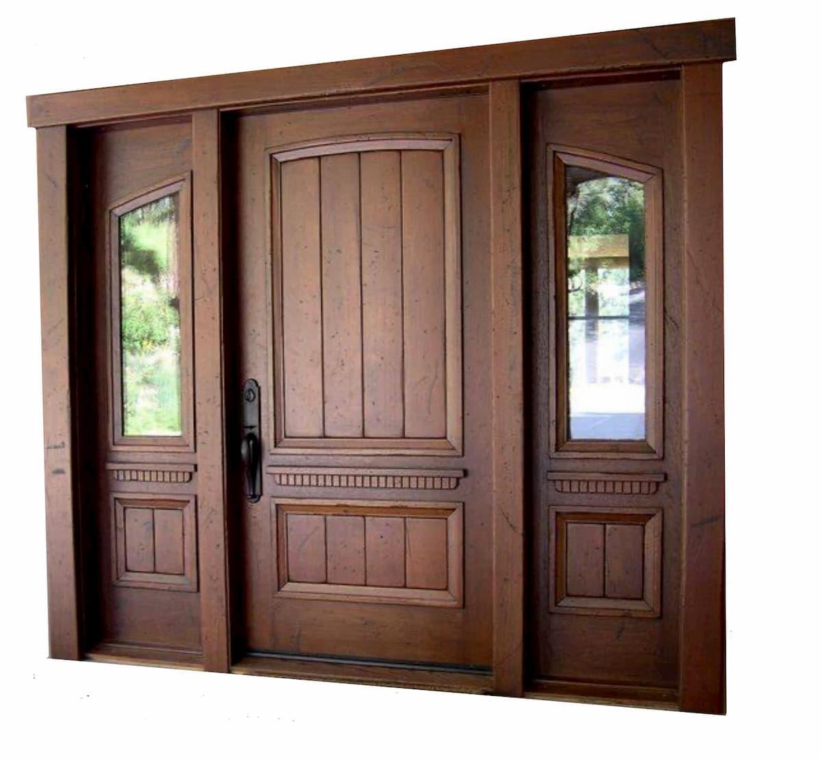Montana Mahogany Entry Door