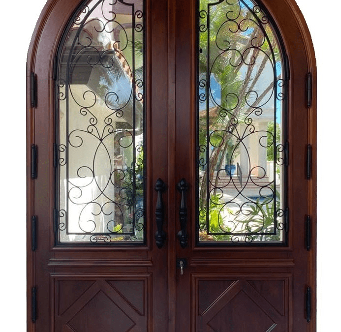 arched-wood-doors