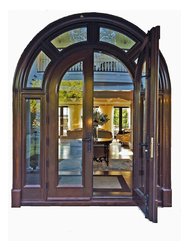 Full arched door system warmth and superb style - Bellinimastercraft.com
