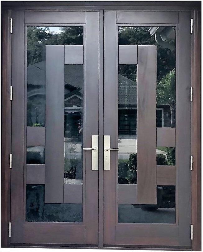 PORT ORANGE MAHOGANY DOOR
