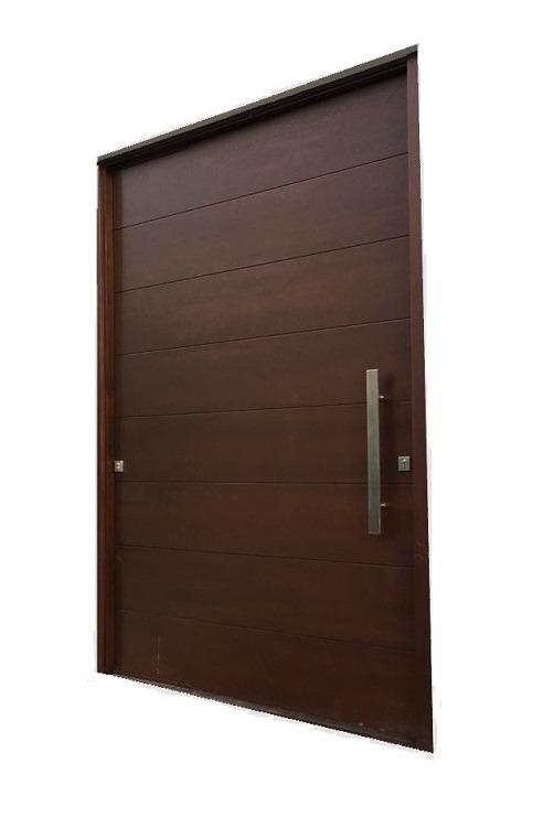 MARIANELLI MAHOGANY ENTRY DOOR