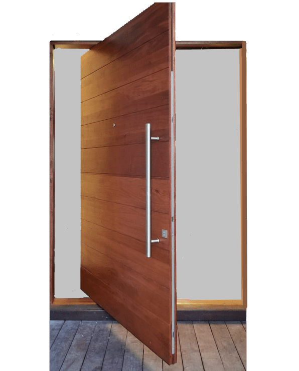 PERRUCI MAHOGANY ENTRY DOOR