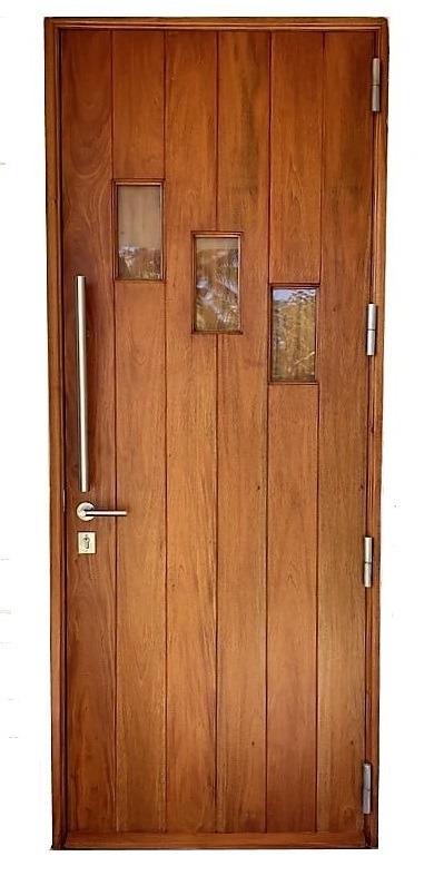 Belkis exterior mahogany door | bellinimastercraft.com