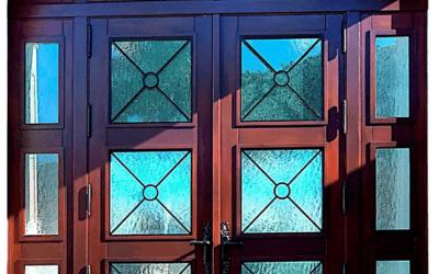MAHOGANY EXTERIOR FRONT ENTRY DOORS