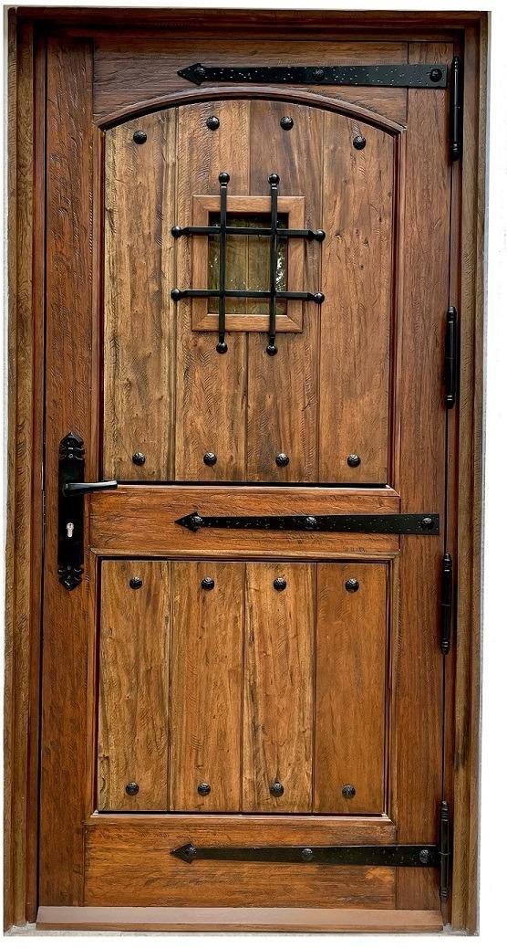 ZAMORA EXTERIOR MAHOGANY DOOR
