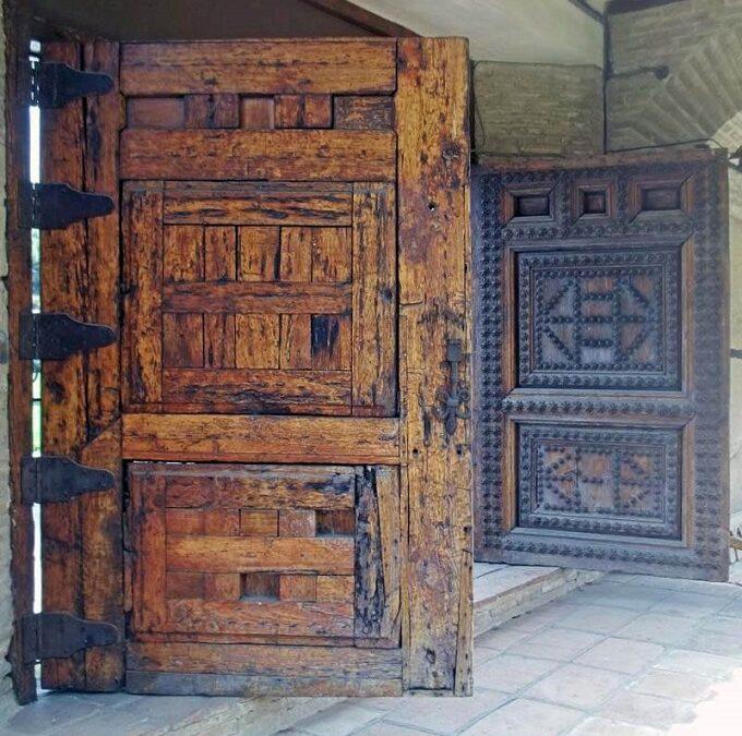 VINTAGE MAHOGANY DOORS