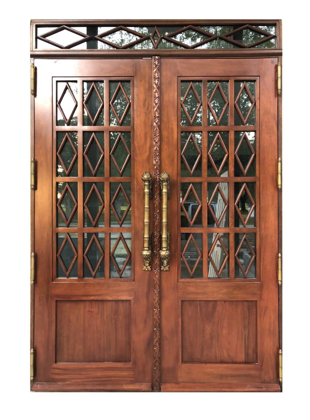 Paradiso Mahogany Entry Gate Door | https://bellinimastercraft.com/