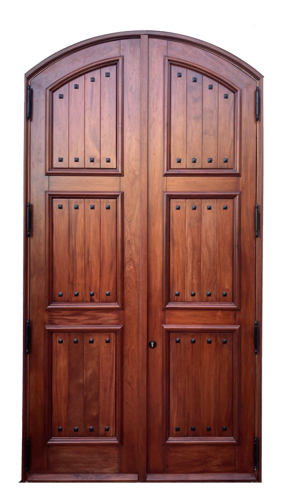 IBRAHIM MAHOGANY GATE ENTRY DOOR