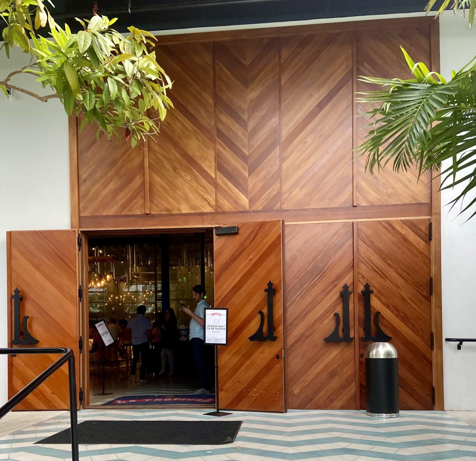 La Cerveceria Tropical   Entrance Door   https://bellinimastercraft.com/