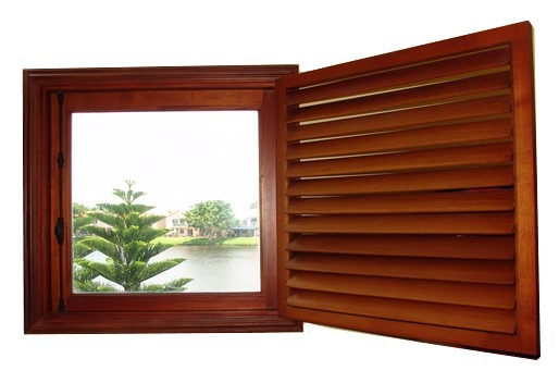 LAKE HOUSE WINDOW AND SHUTTER