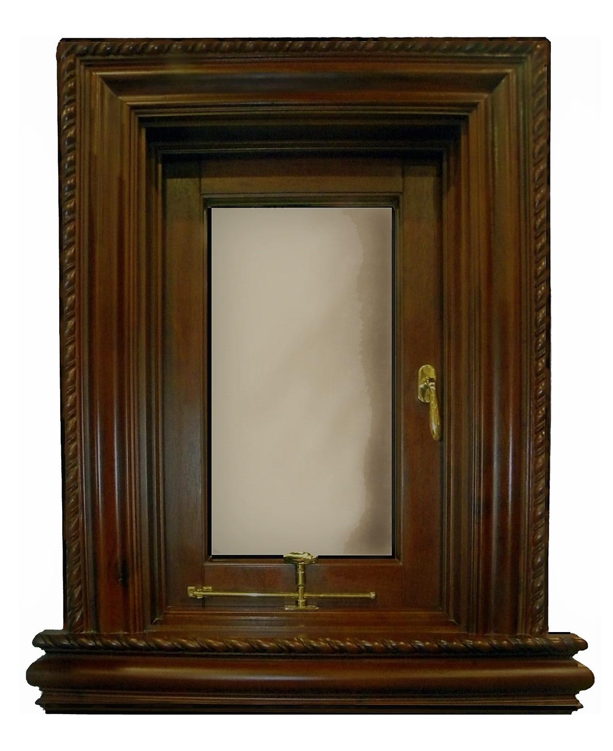 BOTICELLI MAHOGANY SINGLE SASH CASEMENT WINDOW