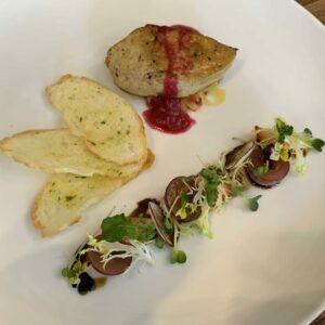 Patte Gan ngỗng áp chảo/  Pan-fried foie gras Patte