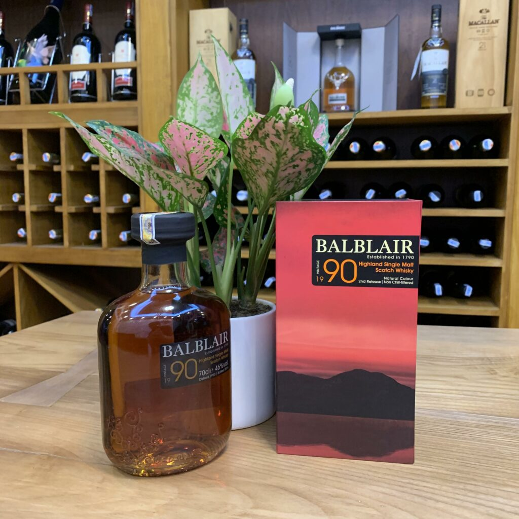 R.M Balblair Vintage 1990 Highland Single Malt Scotch Whisky