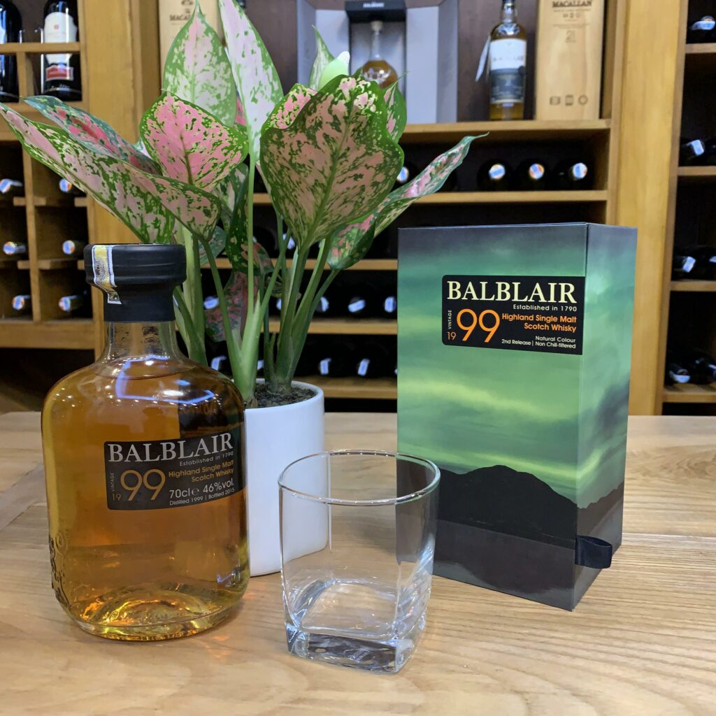 R.M Balblair Vintage 1999 Highland Single Malt Scotch Whisky