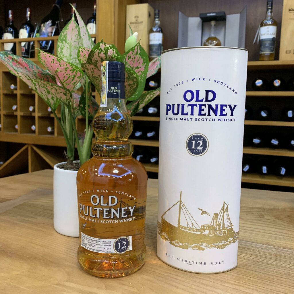 R.M Old Pulteney 12Yo Single Malt Scotch Whisky