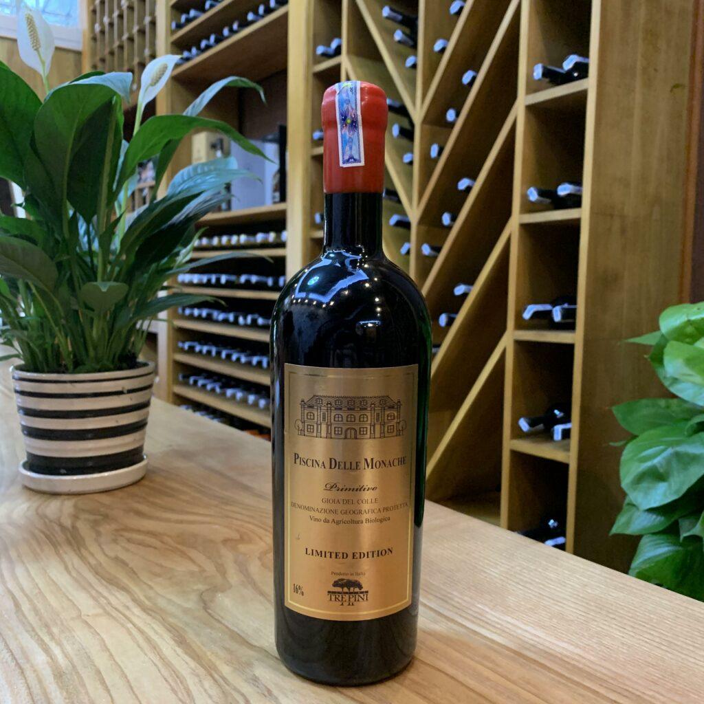 R.V đỏ Piscina delle Monache ( hàng organic limited)
