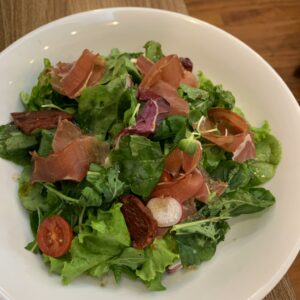 Salad Rocket & Đùi lợn Tây Ban Nha