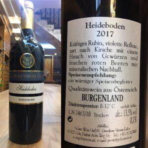 Rượu Vang Áo Chát Đỏ(Heideboden) – AW03