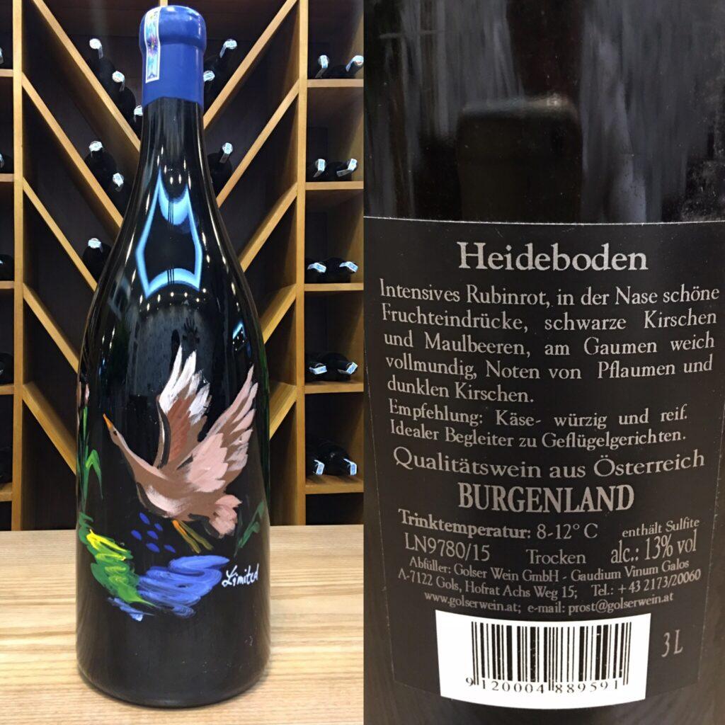 Vang Áo Đỏ Chát Heideboden 3L 13%
