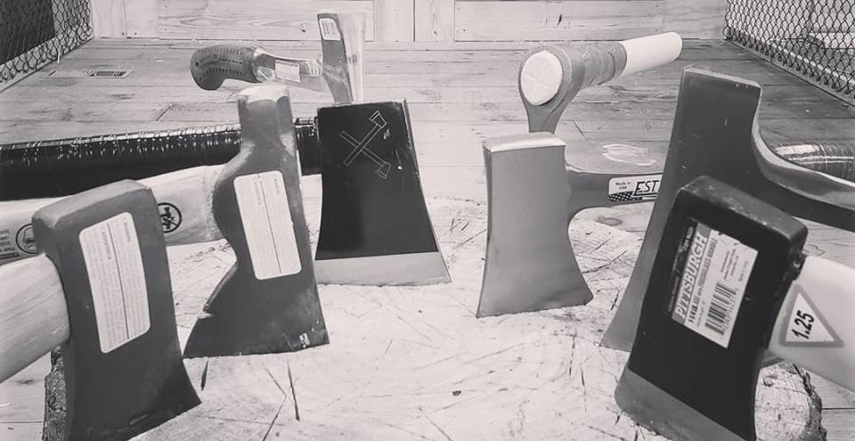 These axes were made for throwing!