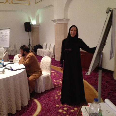 Facilitating Diversity Training in Saudi Arabia