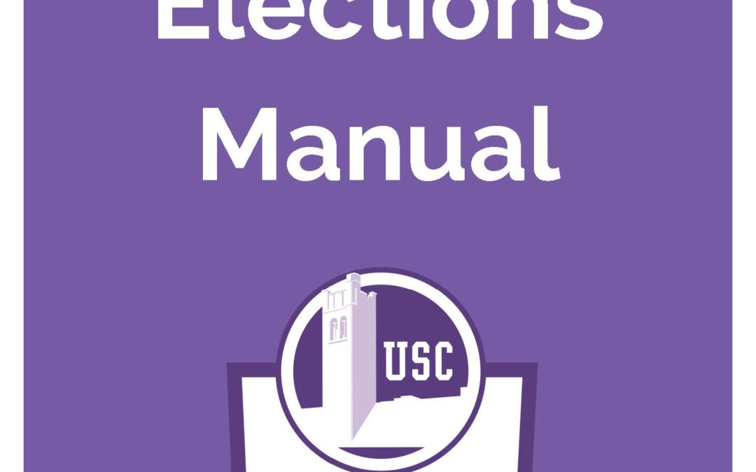 Elections Manual 2018