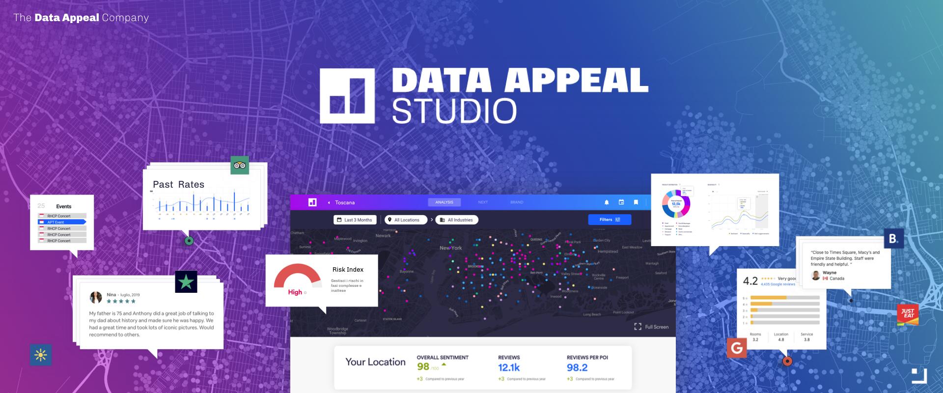 Data Appeal Studio Hero